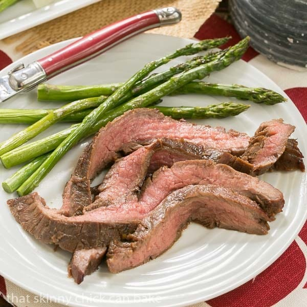 Easy Grilled Flank Steak | Marinate with pantry ingredients overnight, then toss of the grill for a terrific entree