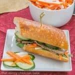 Grilled Pork Báhn Mì Sandwich #SundaySupper