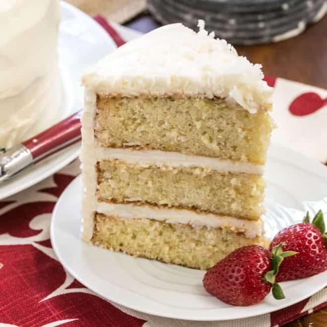 Buttermilk Icing Cake