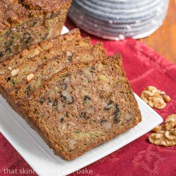 Pineapple Coconut Zucchini Bread   The ultimate summer quick bread with walnuts, pineapple and coconut!