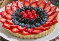 Summer Fruit Tart #SundaySupper