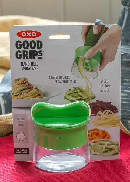 OXO hand spiralizer