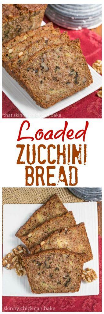 Pineapple Coconut Zucchini Bread