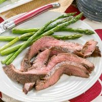 Easy Grilled Flank Steak - Marinate with pantry ingredients overnight, then toss on the grill for a terrific entree
