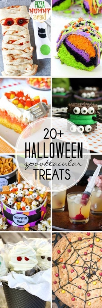 Halloween Treats | 20+ spooktacular recipes!