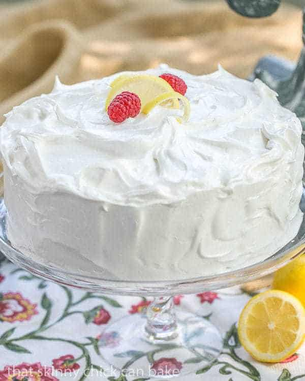 Lemon Layer Cake | 4 layers of vanilla cake filled with lemon curd and ...