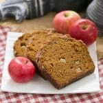 Pumpkin Bread with Apples