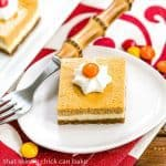 Pumpkin Cheesecake Bars #PumpkinWeek