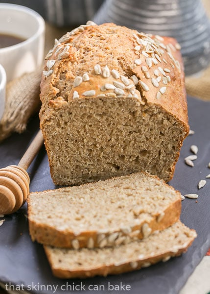 Sliced Sunflower Whole Wheat Bread