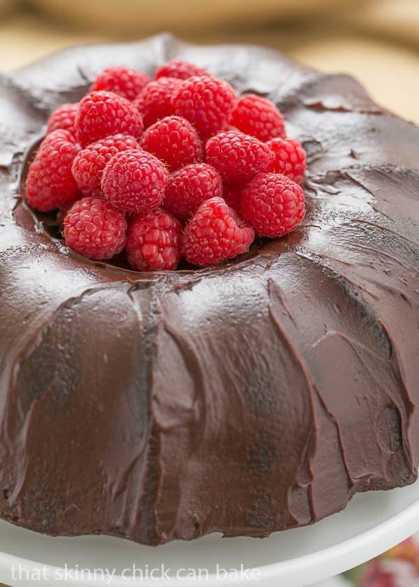 Cocoa Buttermilk Bundt Cake