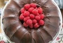 Chocolate Buttermilk Bundt Cake #TwoSweetiePies