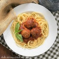 Overhead view of Classic Italian Meat Sauce featured image