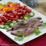 Flank Steak Fajitas #WeekdaySupper