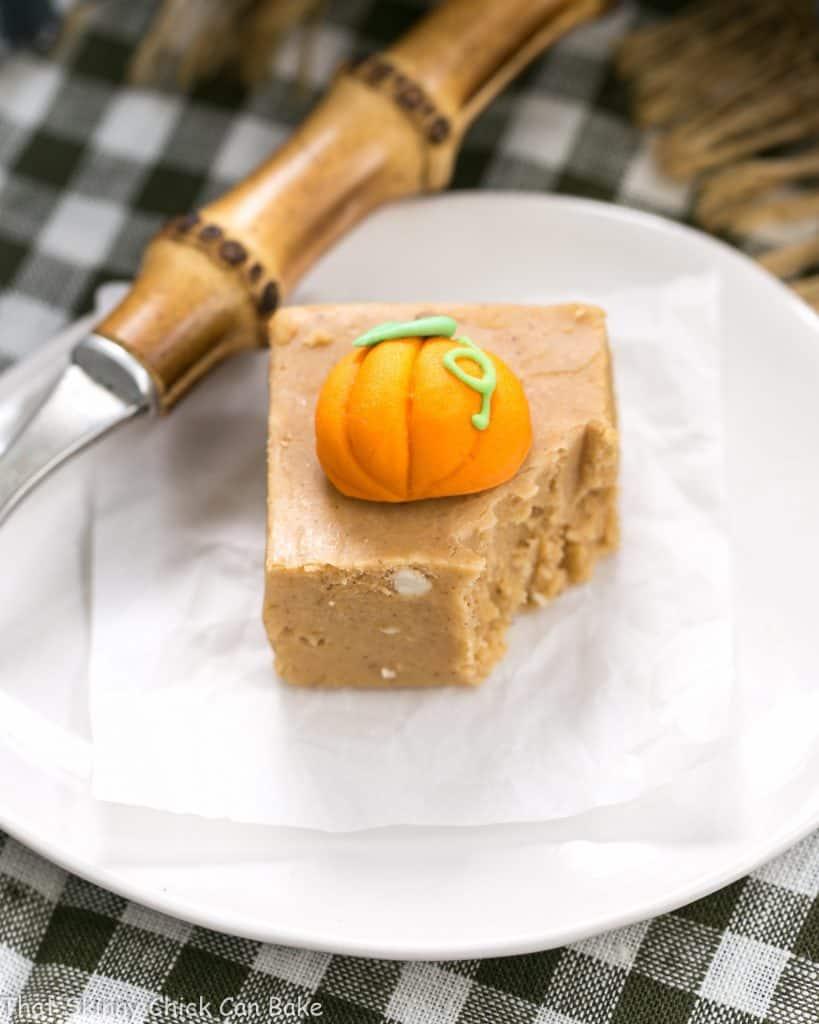 Easy Pumpkin Fudge