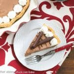 Classic French Silk Pie #ChoctoberFest #Giveaway