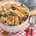 Mary's Maple Granola #PAMCookingSpray #ad