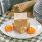 Pumpkin Fudge #PumpkinWeek