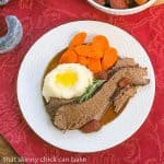 Rosemary Garlic Brisket #SundaySupper