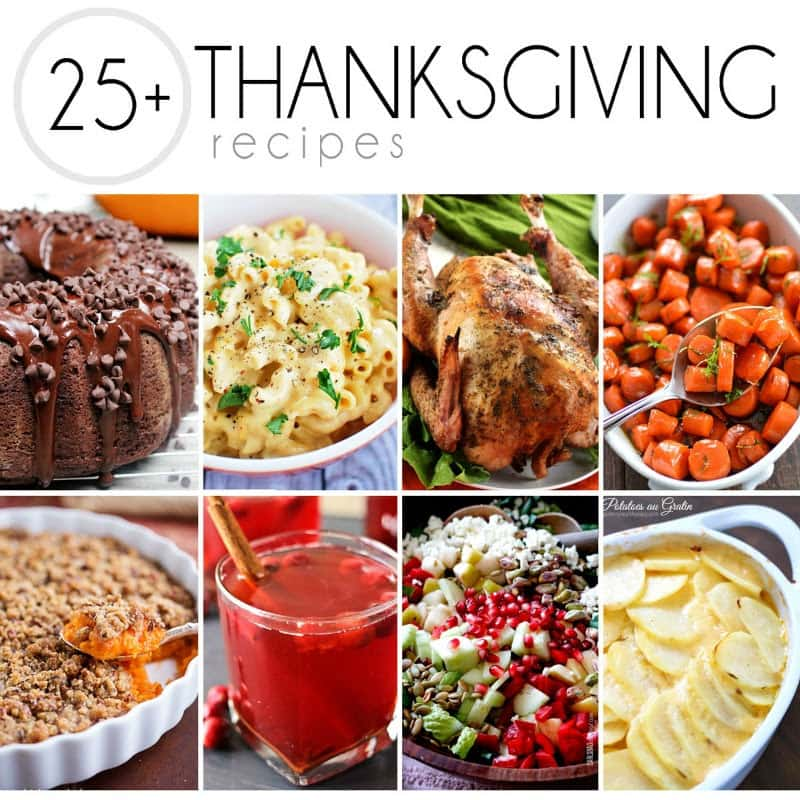 25+ Thanksgiving Recipes - That Skinny Chick Can Bake