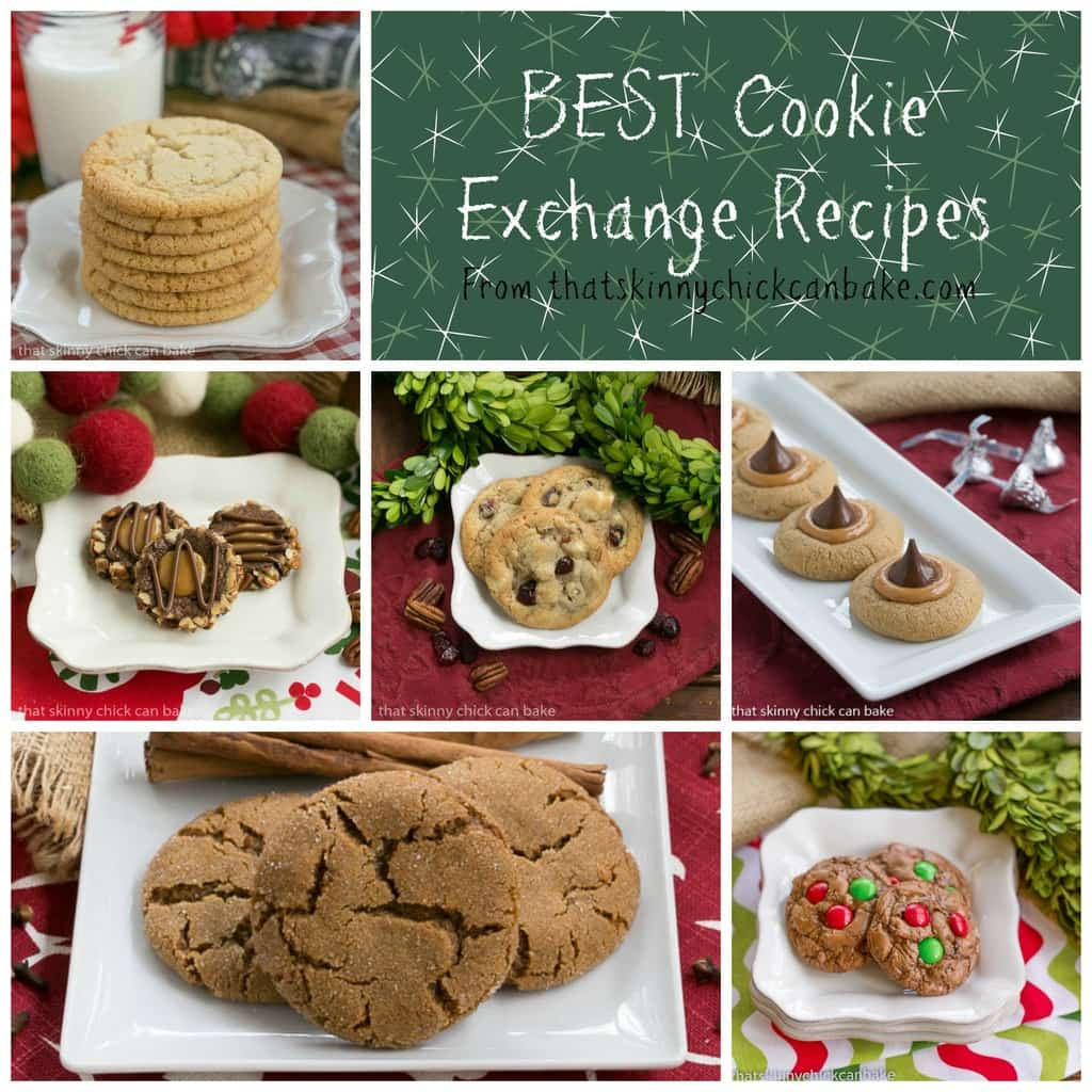 Recipes for a cookie exchange