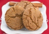 Chewy Gingersnaps plus 40+ Holiday Cookie Recipes #Cookielicious
