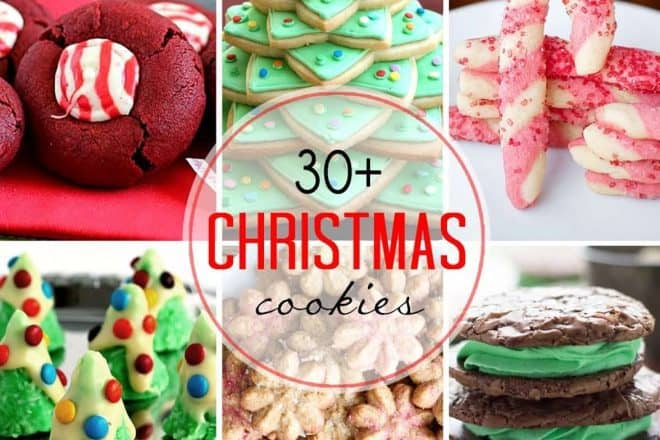 30 Christmas Cookies That Skinny Chick Can Bake