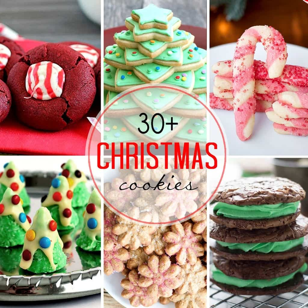 30+ Christmas Cookies - That Skinny Chick Can Bake