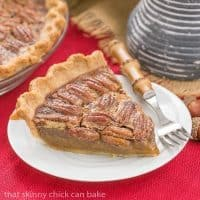 Boozy Pecan Pie | A rich, ultra-sweet indulgence. Perfect for the holidays!