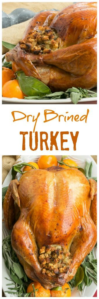 Dry Brined Turkey | The EASIEST way to brine your Thanksgiving bird