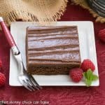 Chocolate Sheet Cake #SundaySupper