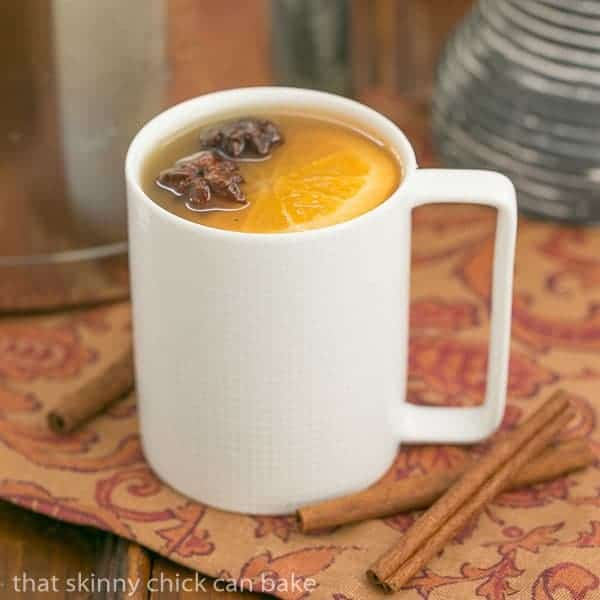 Mulled Apple Cider | Hot cider flavored with vanilla, oranges and warm ...