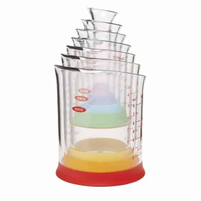 OXO liquid measuring beakers