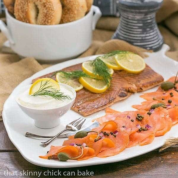 Smoked Salmon Platter That Skinny Chick Can Bake