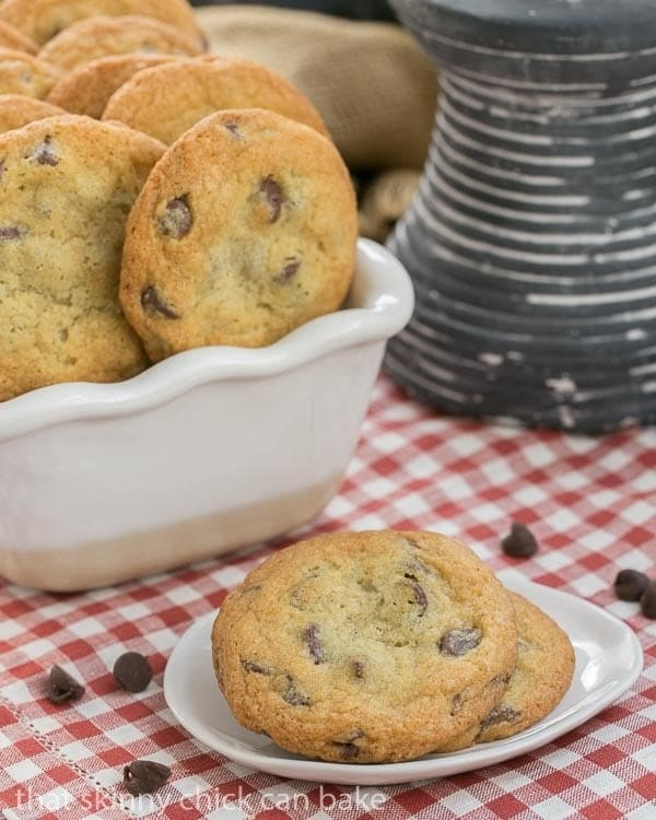 Thin Chewy Chocolate Chip Cookies For Those Times You Want A Bigger Thinner