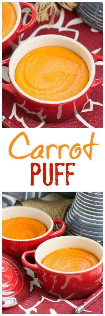 Carrot Puff - A lovely twist for your vegetable course