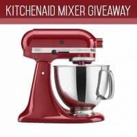 Kitchen Aid Mixer Giveaway