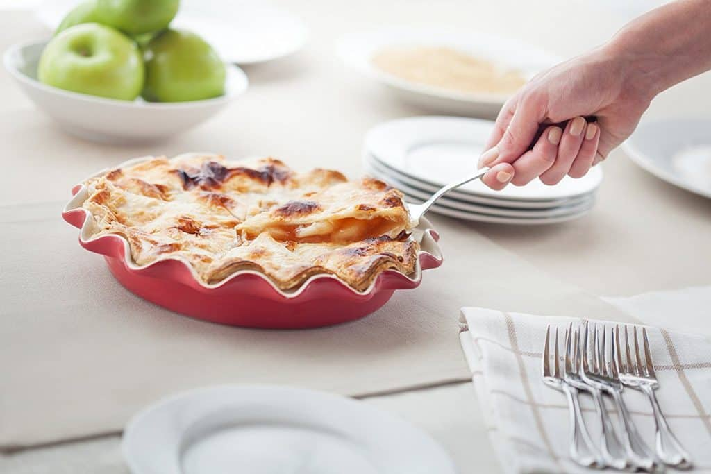 Rose Levy Beranbaum's Rose's Perfect Pie Plate with Recipe Booklet