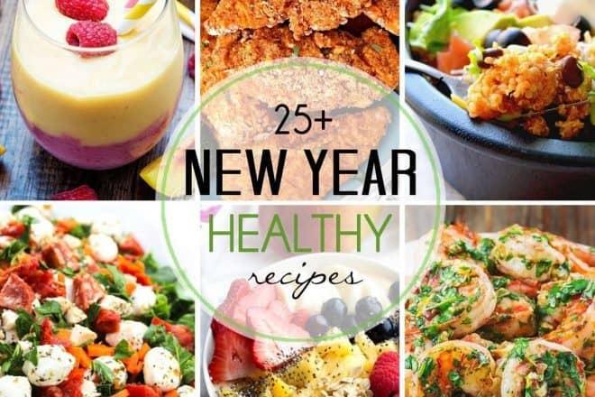 25 New Year Healthy Recipes