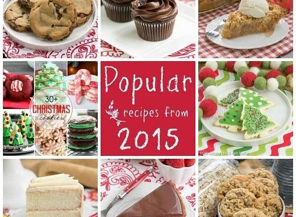 2015 Most Popular Recipes