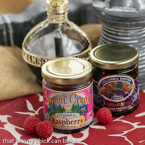 Sweet Creek Organic Raspberry Fruit Spread