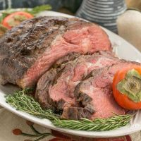 Classic Prime Rib-Perfect roasting technique for rare prime rib