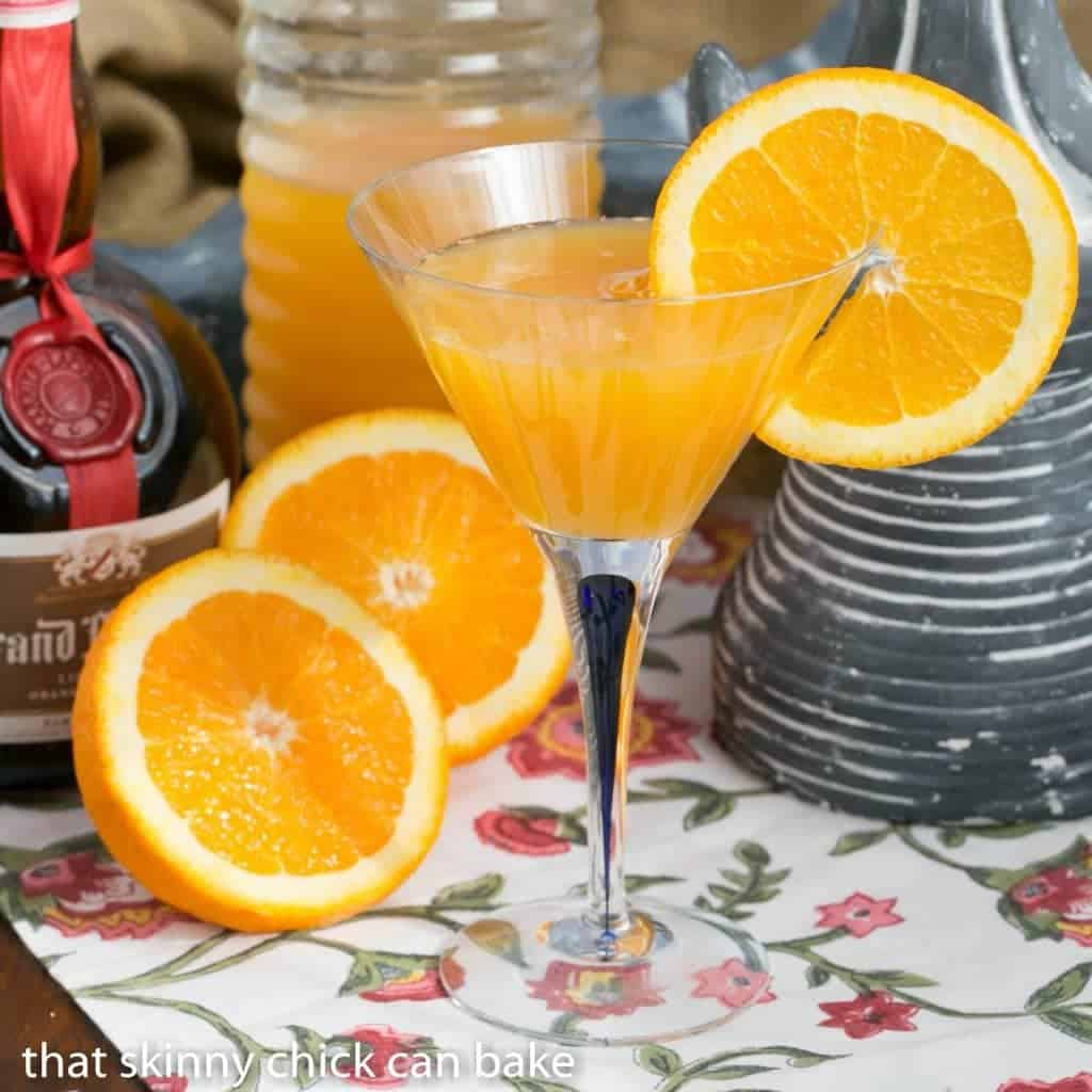 Mimosas | The classic orange juice and champagne cocktail with the optional splash of Grand Marnier