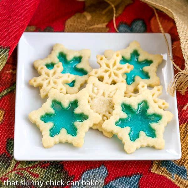 Stained glass cookies that skinny chick can bake for Stained glass cookie recipe