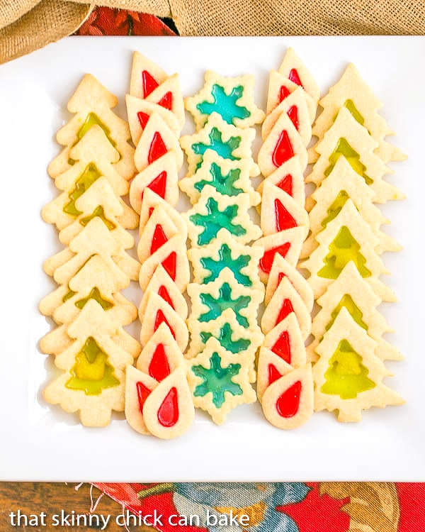 Stained glass christmas cookie recipes