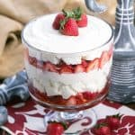 Strawberry Cheesecake Trifle #ChristmasWeek