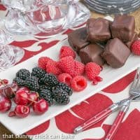 Chocolate Dipped Cheesecake Bites   Exquisite, bite-sized gems for your holiday buffet!