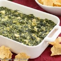 Baked Cheesy Spinach Dip featured image