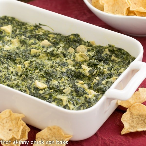Baked Cheesy Spinach Dip