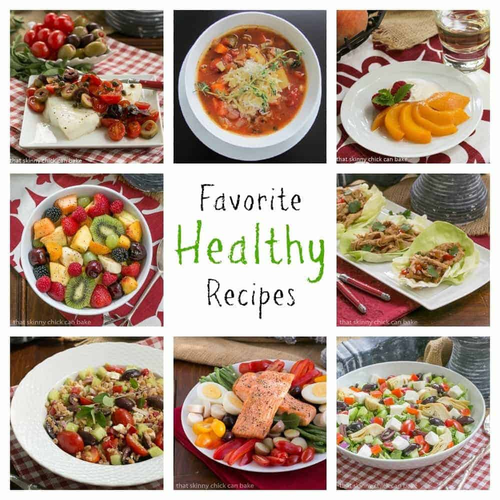 Favorite Healthy Recipes photo collage