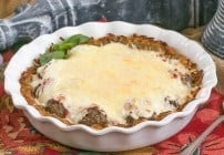 Italian Poutine Pie #SundaySupper #FWCON